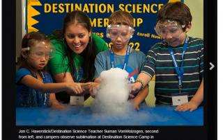 Destination Science STEM Article Photo